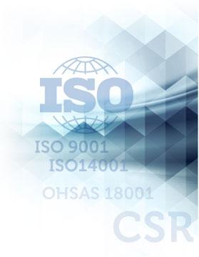 ISO 5001 ISO 14001 CSR